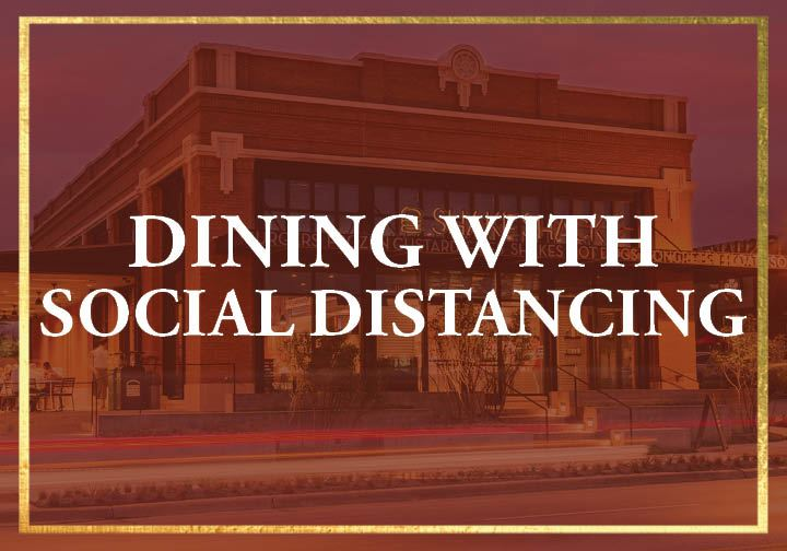 Dining with Social Distancing for Protect 1