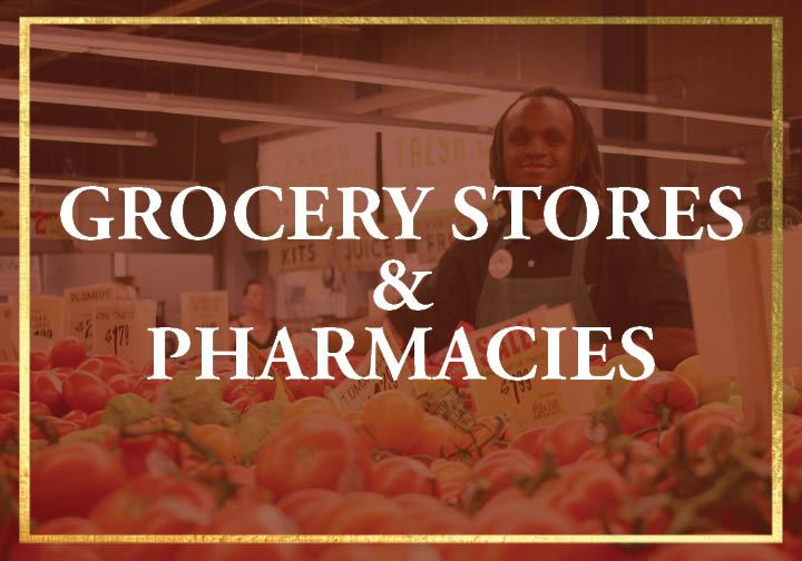 Grocery and pharmacies for Protect 1